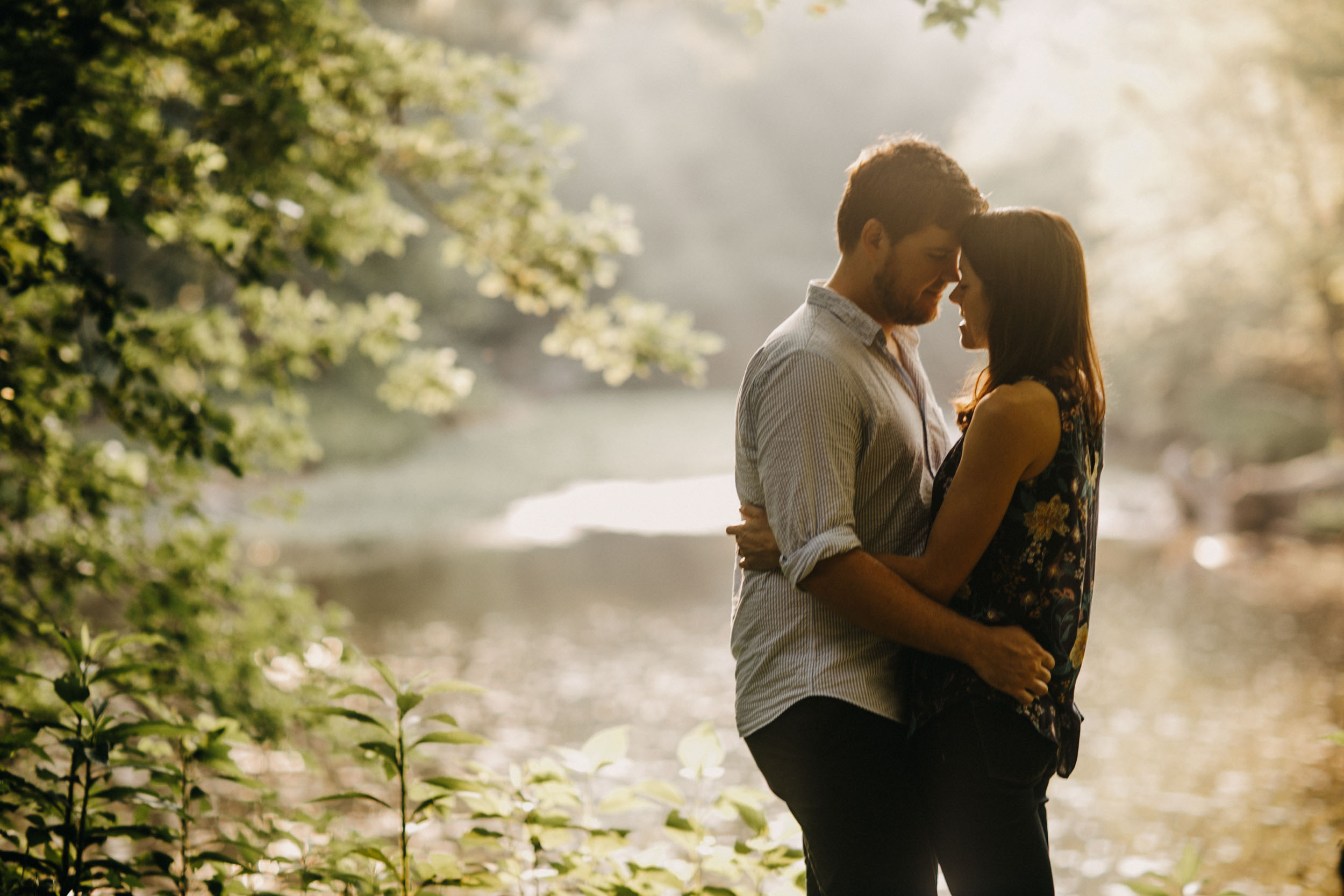 Eno River Engagement Photographer