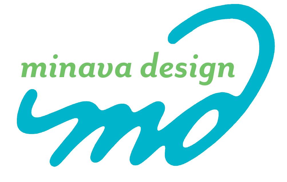 Minava Design logo designed in 2000.