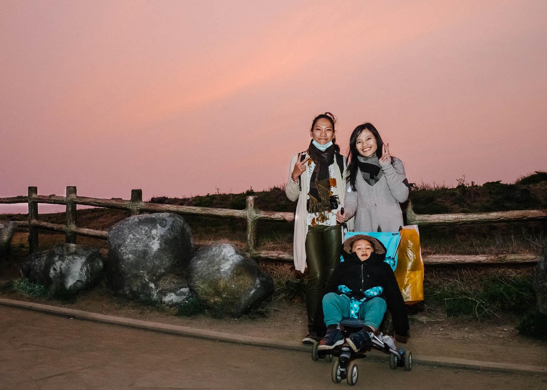 Seopjikoji's Sunset