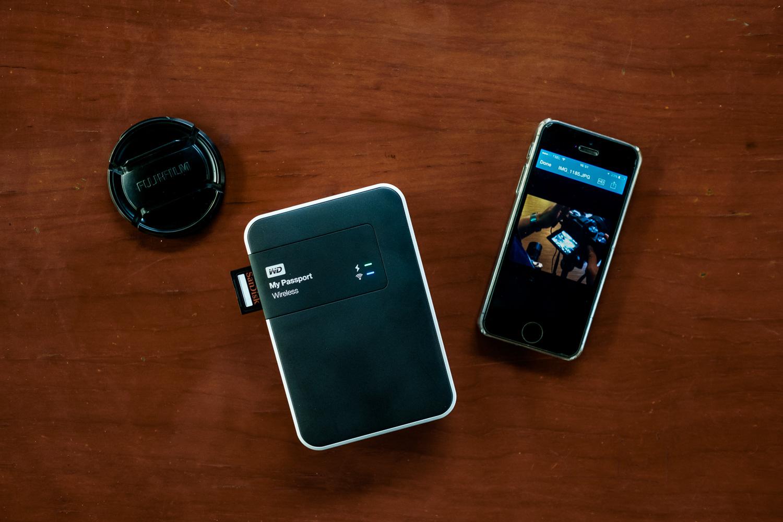 Western Digital Wireless 2 TB with iPhone
