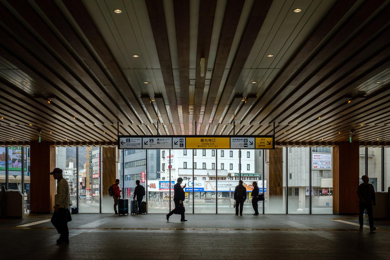 Nagano Station Lobby