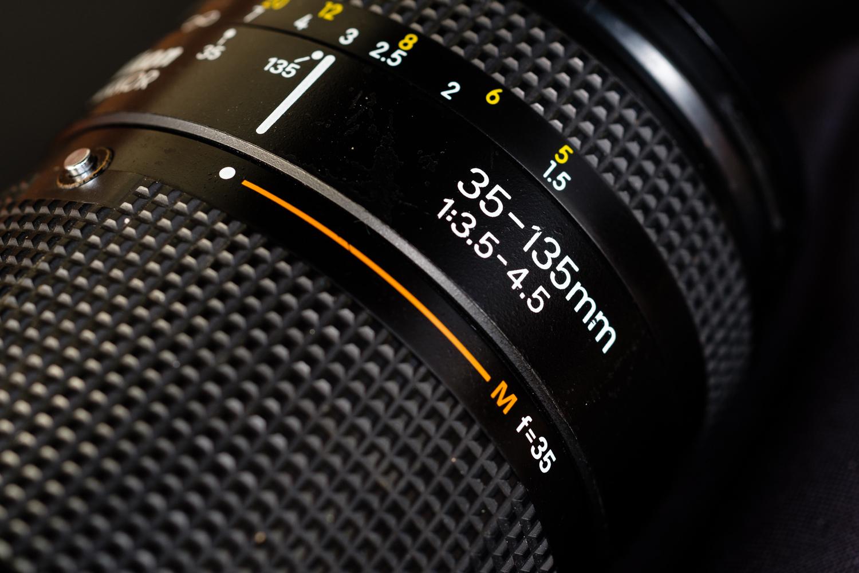 Gambar 2. Nikon AF Nikkor 35-135 f/3.5 - 4.5