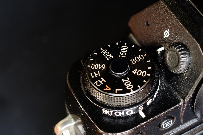 ISO Dial pada Fujifilm X-T1