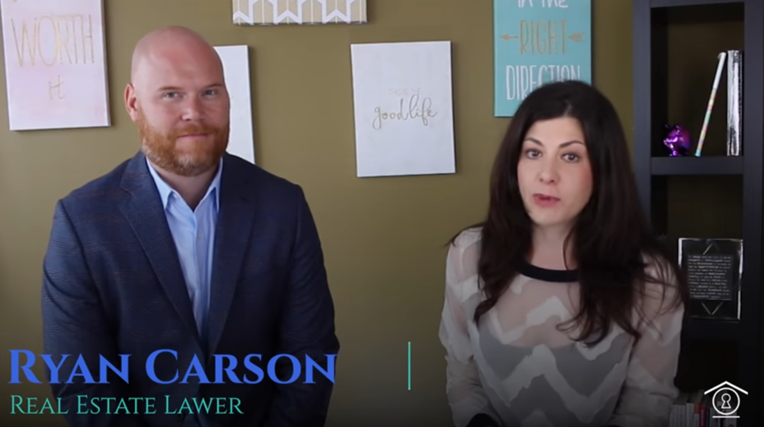 A Lawyer's Tips For First Time Home Buyers   Our founder, J. Ryan J. Carson, got together with a good friend of ours, Limor Markman, to share everything a first time home buyer needs to know from a legal perspective. What is the role of the lawyer and how to best select legal support for the biggest purchase of your life.