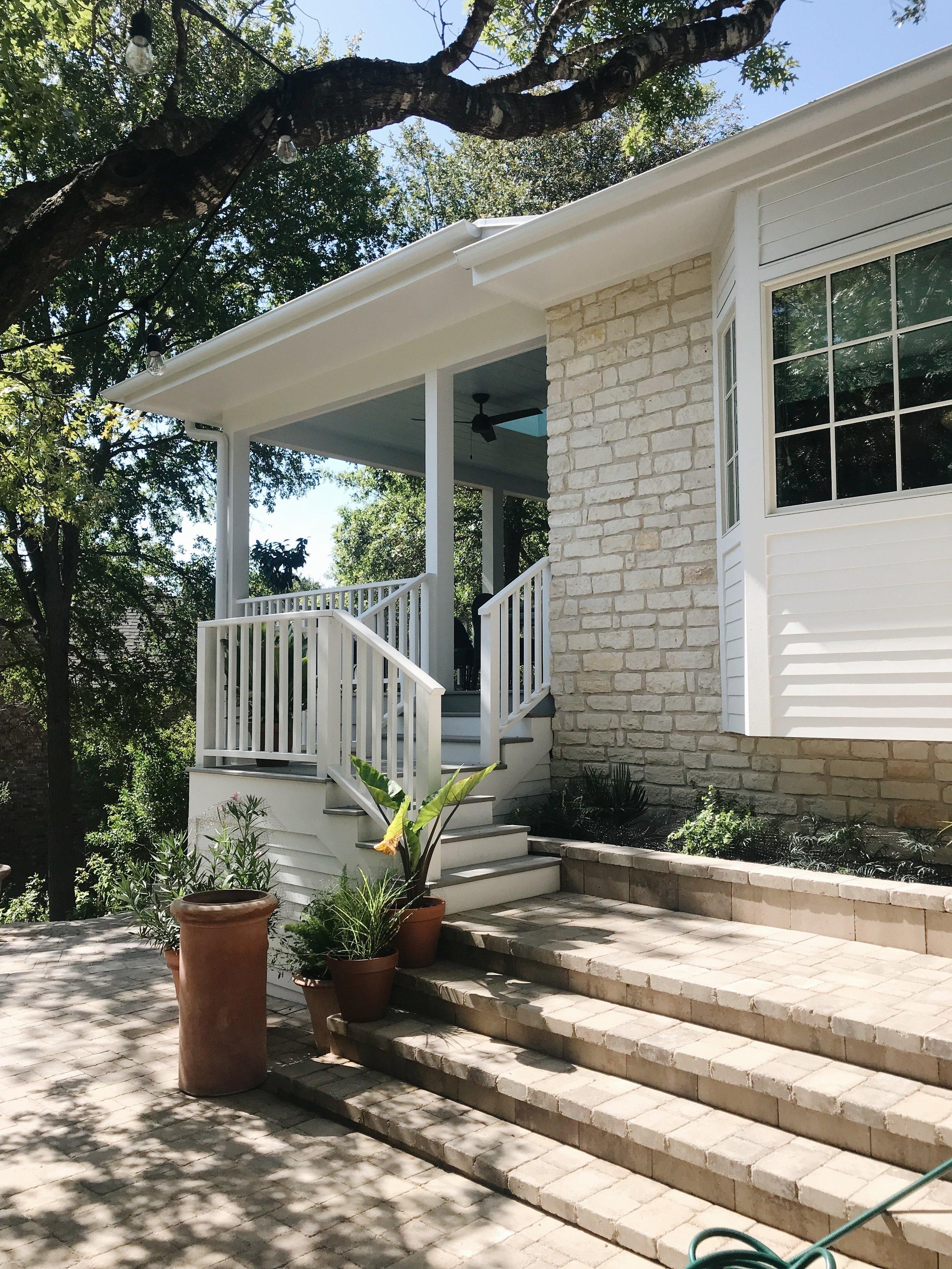 Avery Cox Design Blog: Southern Living 2018 Austin Idea House by Meredith Ellis, Backyard