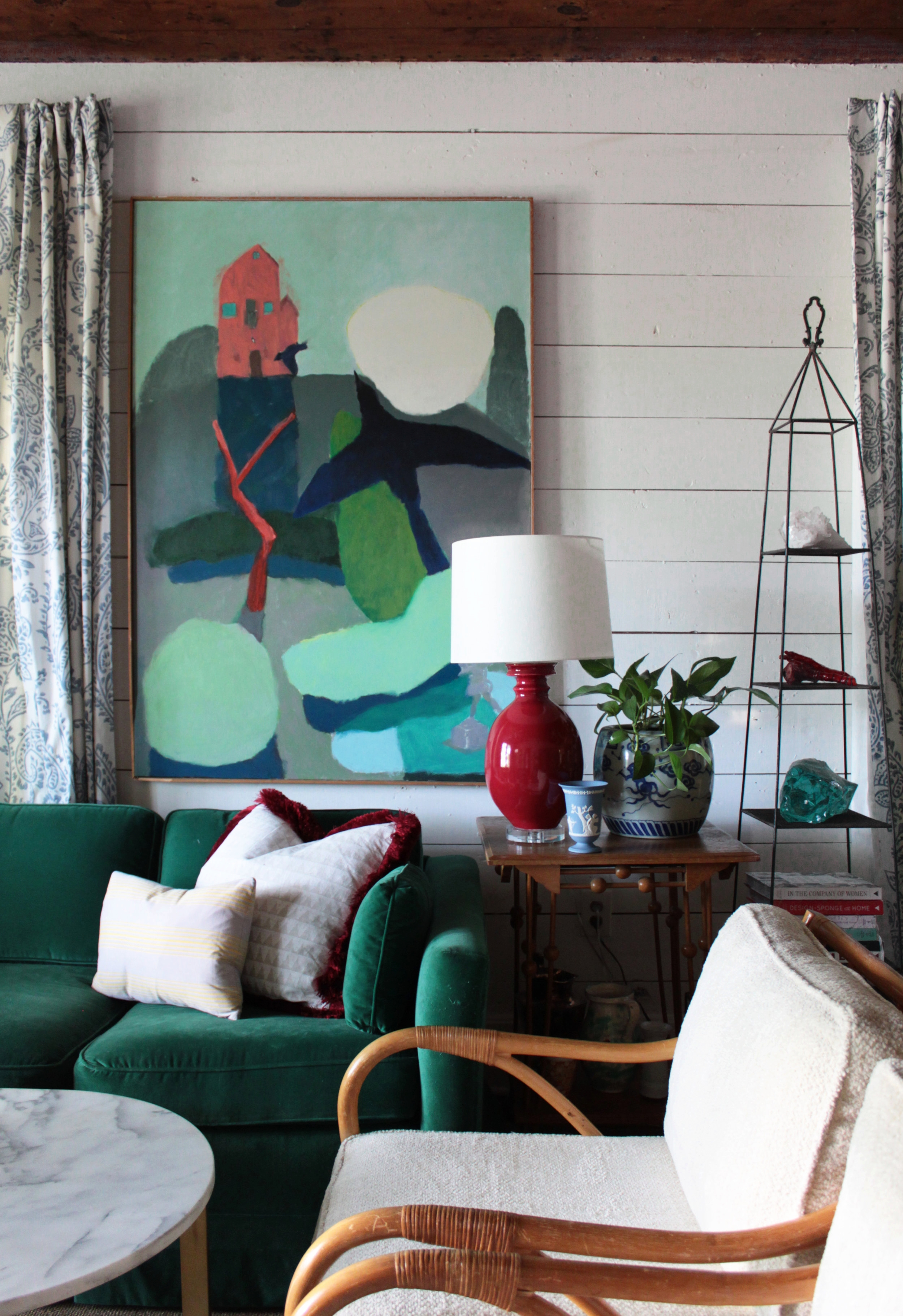 Avery Cox Design - Austin East Side Bungalow- Living Room.jpg