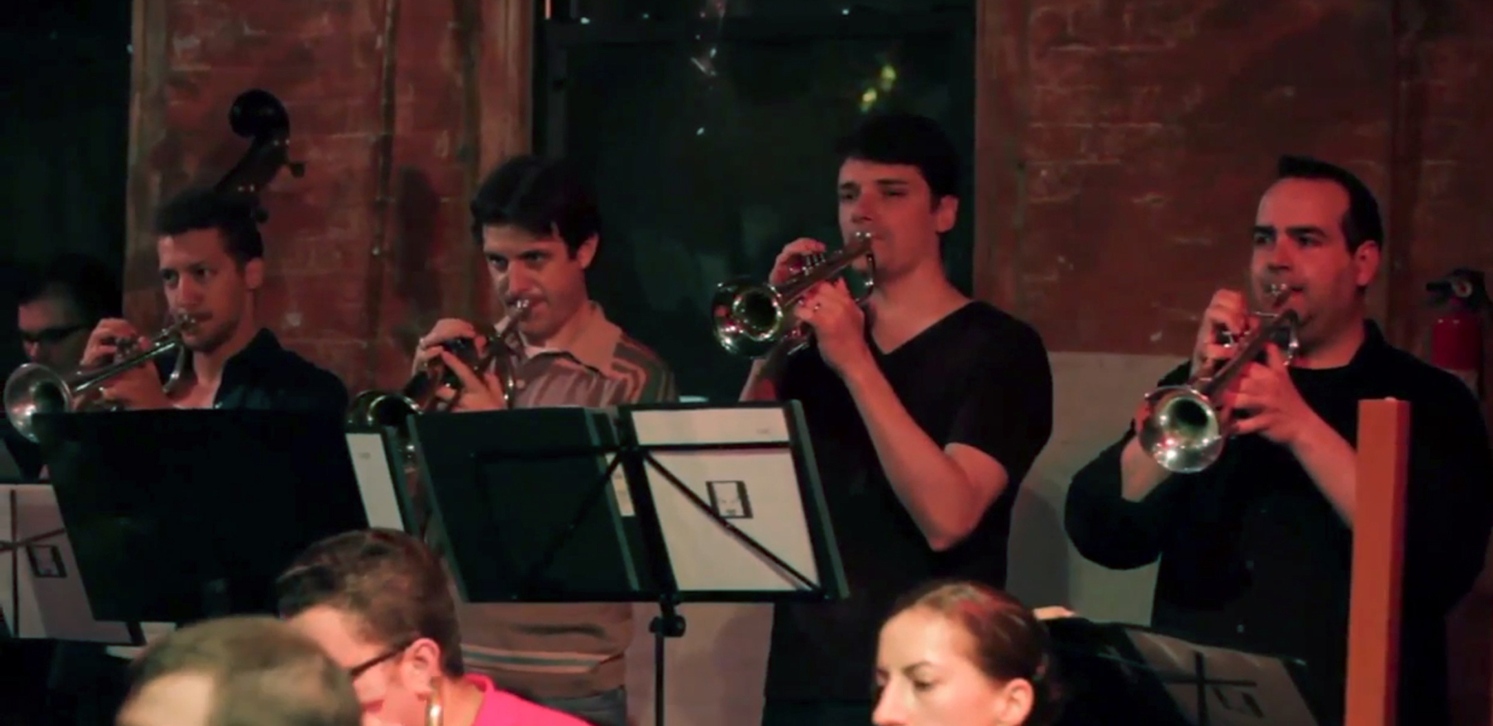 The Awakening Orchestra at the Tea Lounge, Brooklyn NY, 2013