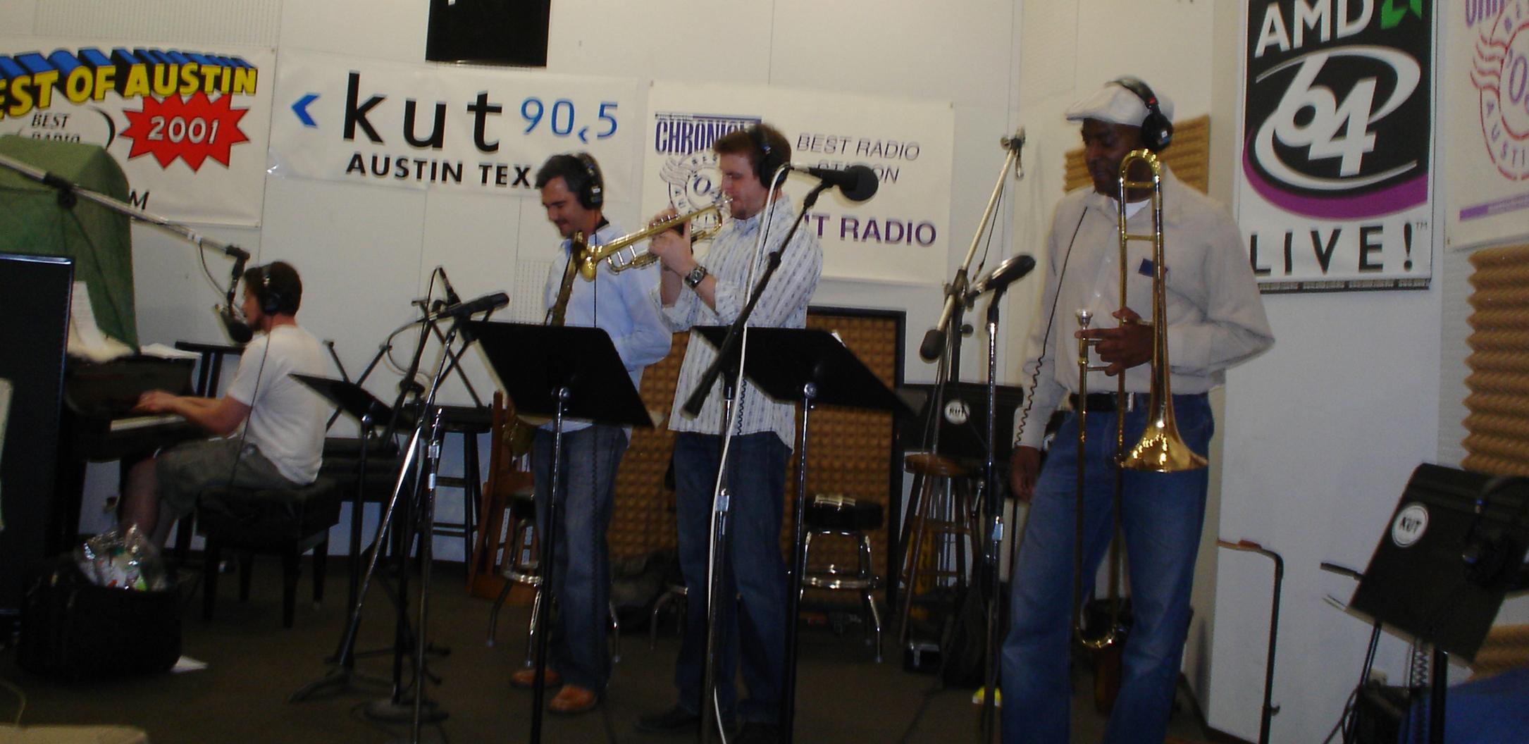 Paul Ray's Jazz Show on WUOT, Austin, TX, 2009