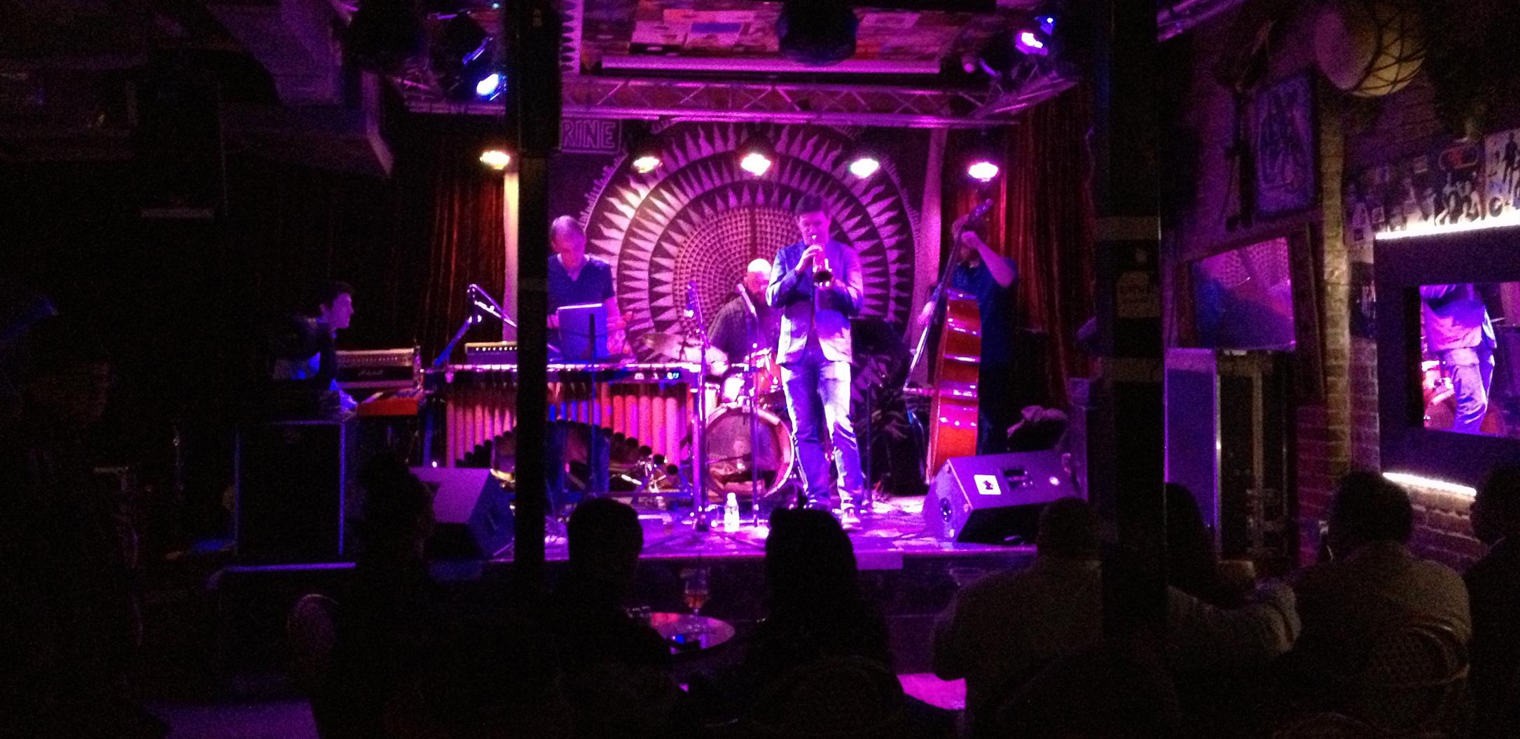 Thomas Heflin Quintet at The Shrine, Harlem, NYC, 2013