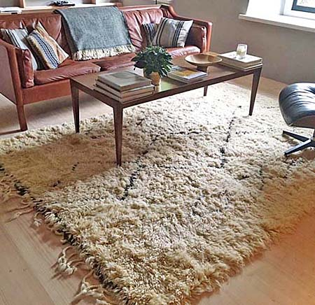 Verbazingwekkend Wild Beauty - About Beni Ouarain Rugs - Blog About Vintage Berber VV-11