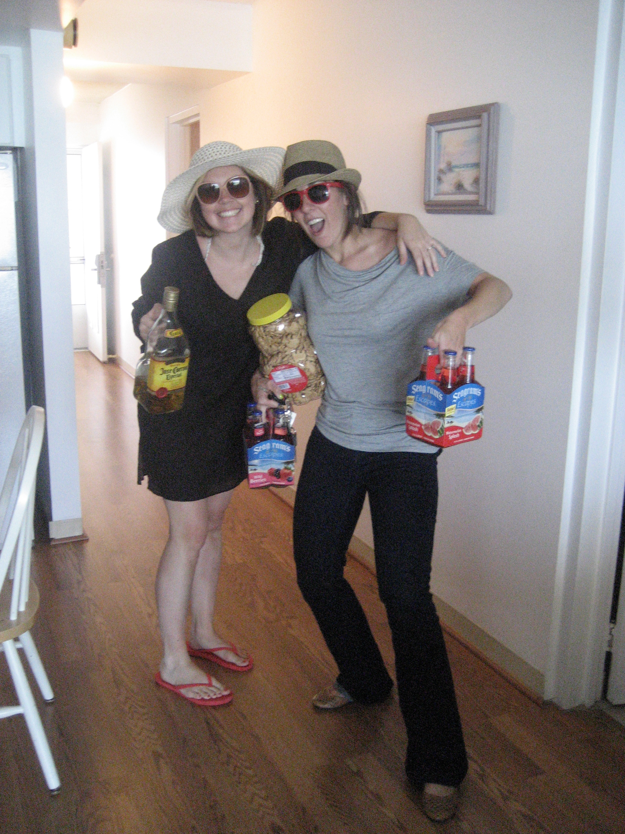 A bachelorette weekend in OCMD calls for Seagram's Escapes, animal crackers, and Cuervo.