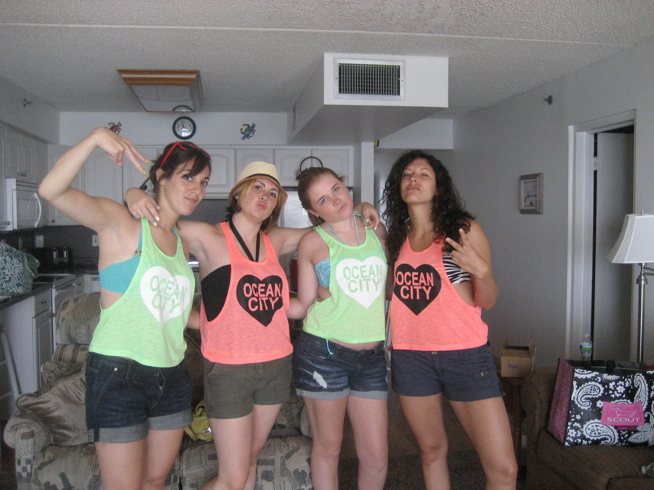 Sunsations OCMD shirt (aka a tiny piece of cheap fabric with giant armholes) -- priceless.