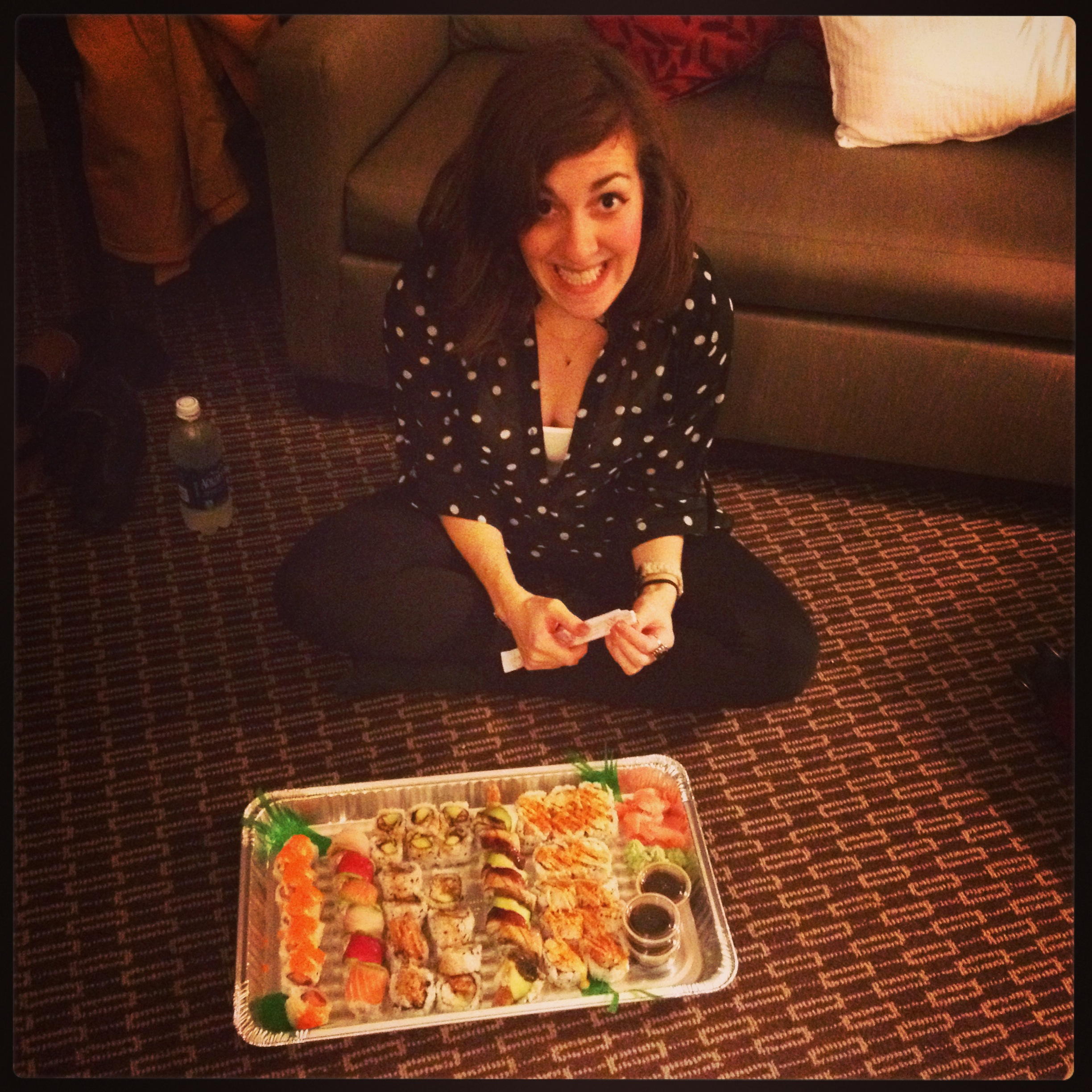 Work trip in miserable Detroit? Put a little sushi on it.