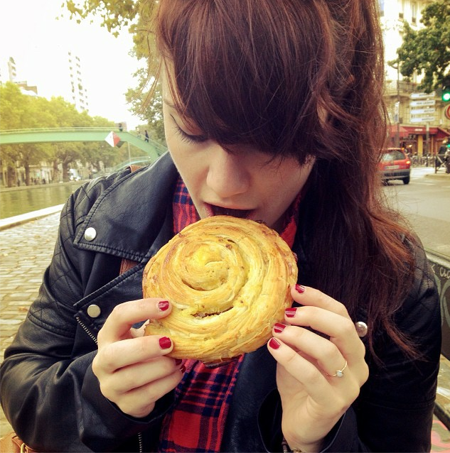 """Staci told me it looked like I was about to """"do bad things to this pastry."""" She wasn't wrong."""