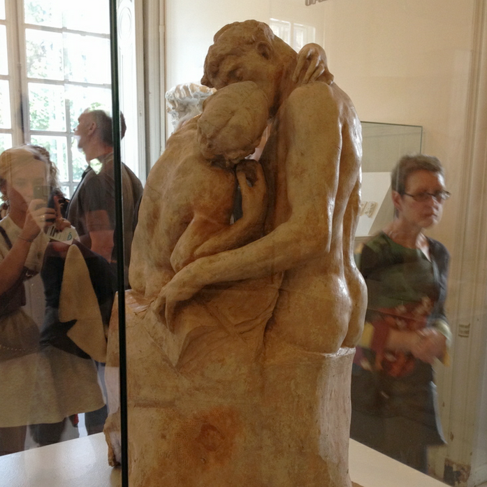One of my all-time favorite sculptures, The Kiss.