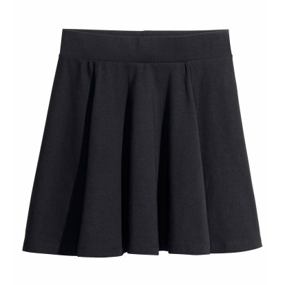 Jersey Circle Skirt