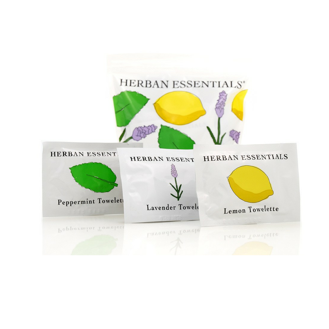 Herban Essentials® Mixed Towelettes