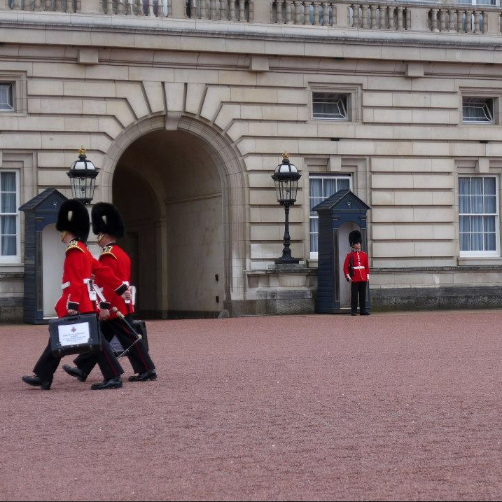 The not-changing of the guard.
