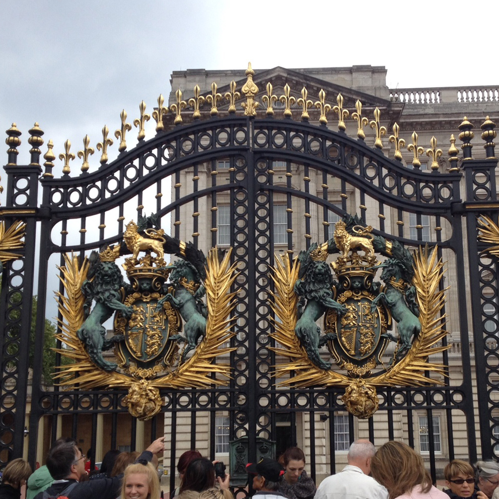 Buckingham Palace, where royals are kids too.