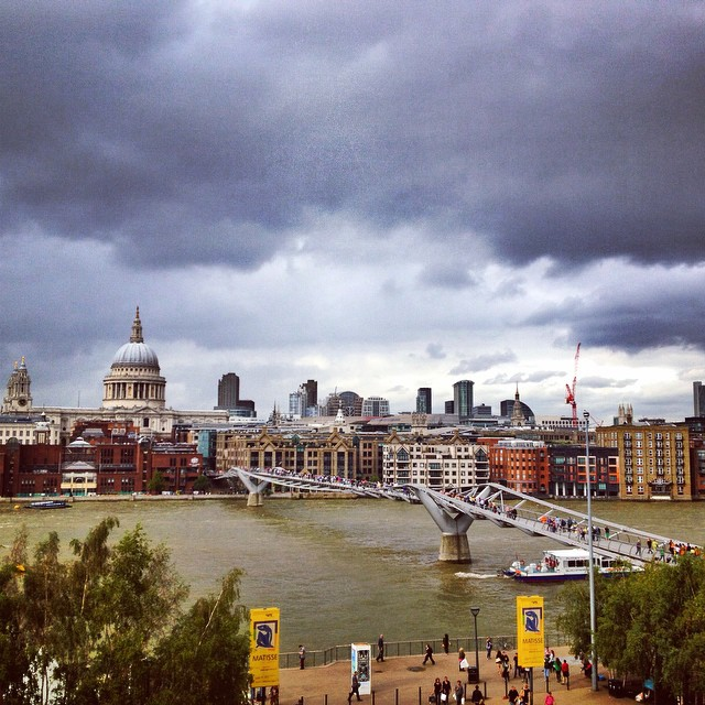 View of the Thames from the Tate