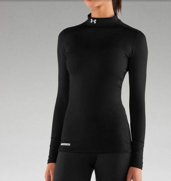 Under Armour ColdGear Mock Fitted Long Sleeve