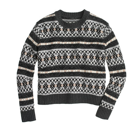J. Crew Fair Isle Sweater
