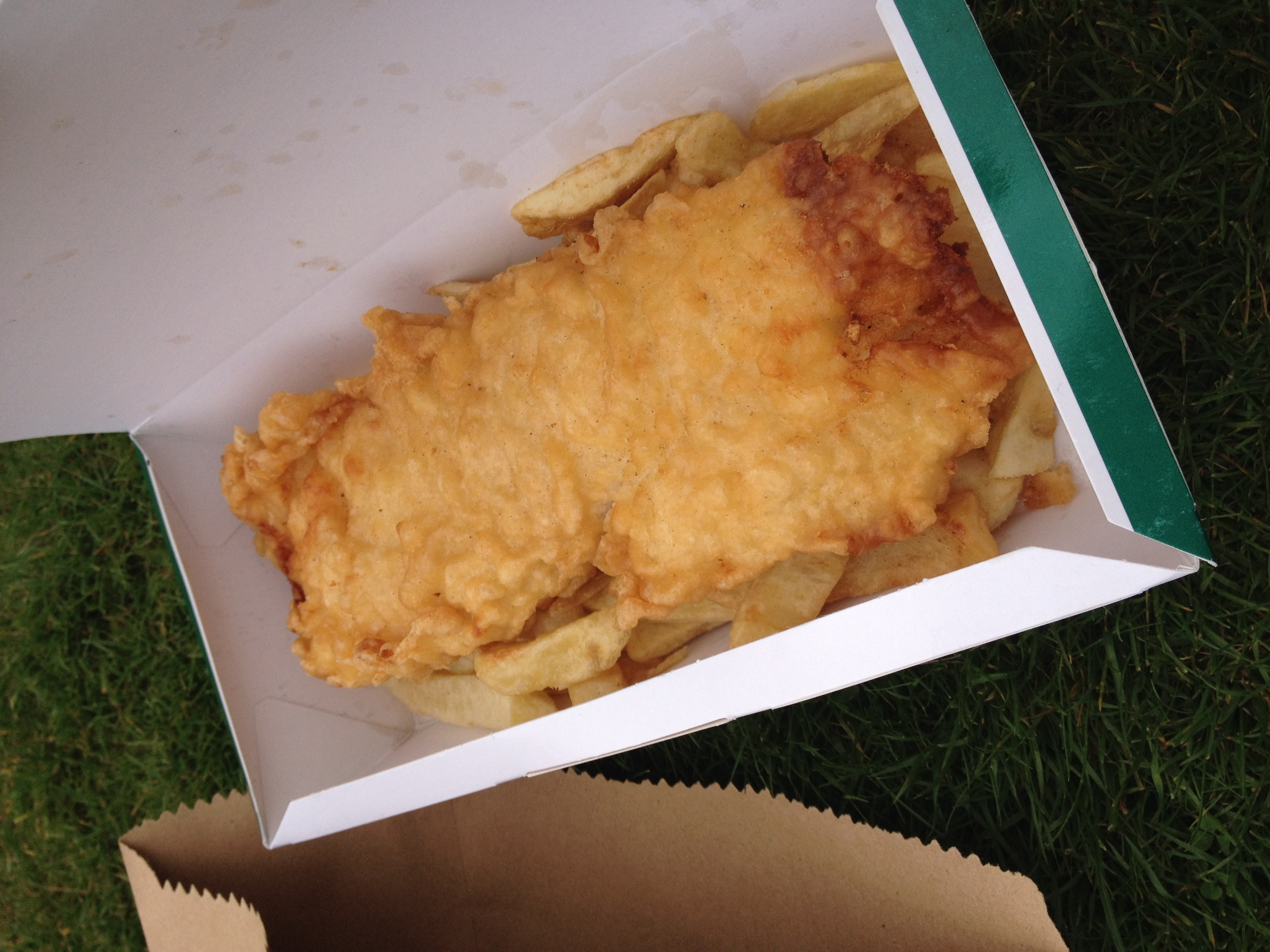 Oh look, fish and CHIPS.