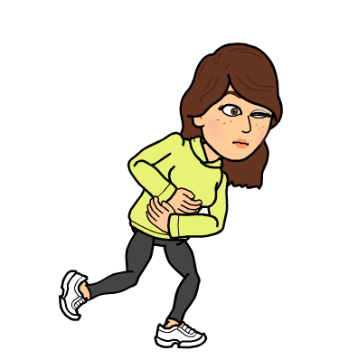 A dramatic reenactment, courtesy of Bitmoji Staci.