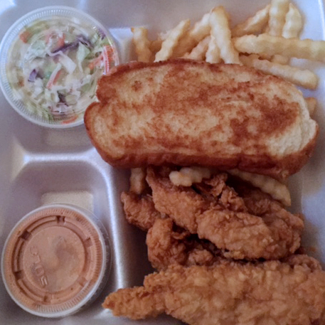 Chicken from  Raising Canes