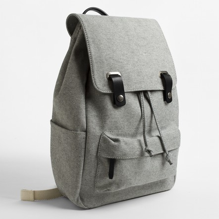 Everlane The Twill Snap Backpack