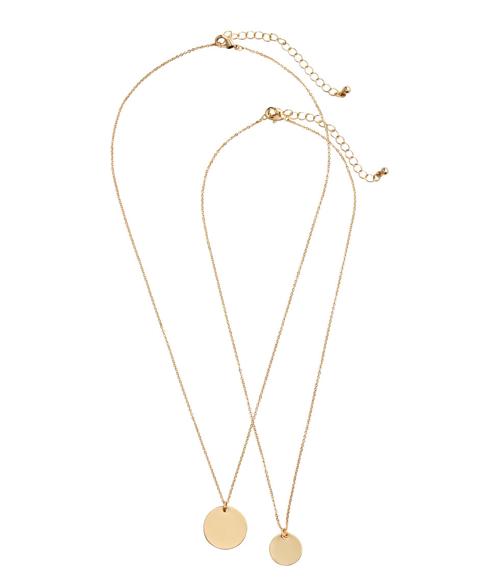 2-pack Necklaces