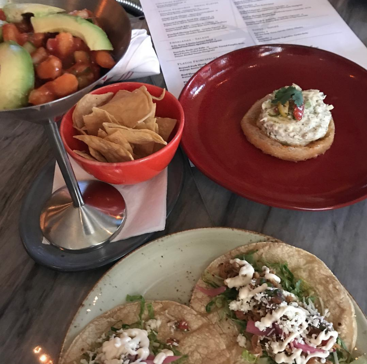 Tapas and tacos at Points South Latin Kitchen.