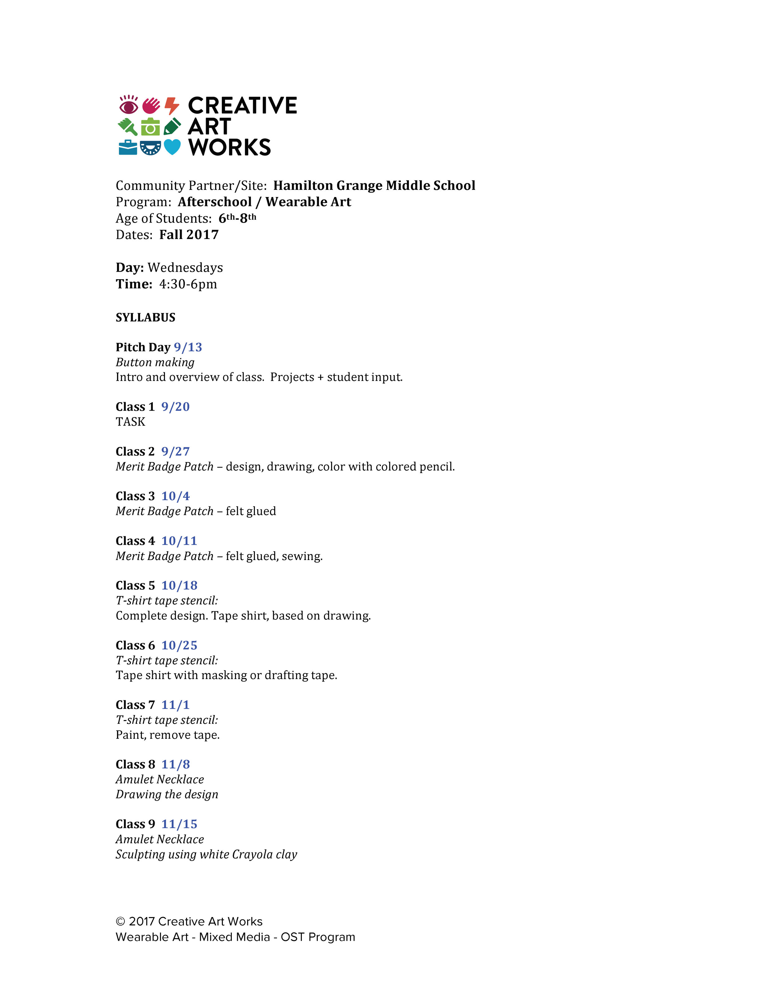 Click HERE to download a PDF of this Syllabus
