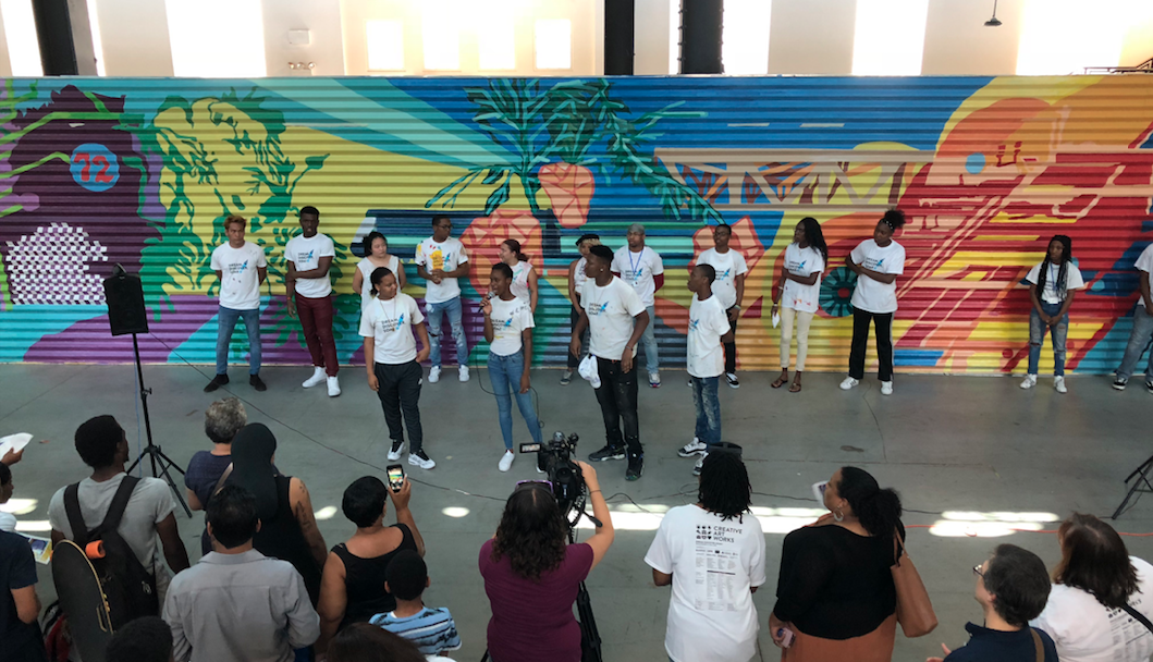 The Brooklyn Reader - Navy Yard to Receive Giant Mural Created by Brooklyn Youth Artists