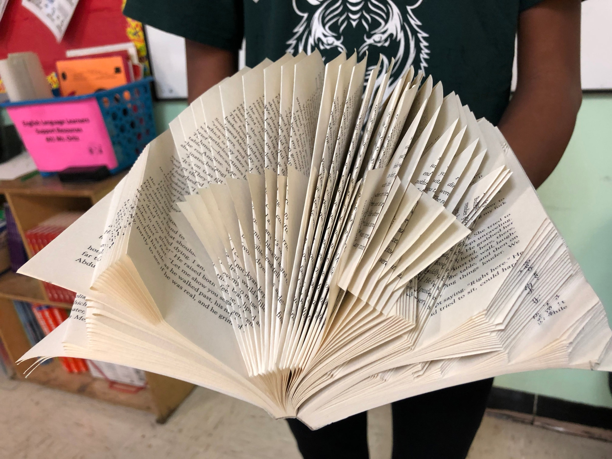 The book as art. You can hold this in your hand.