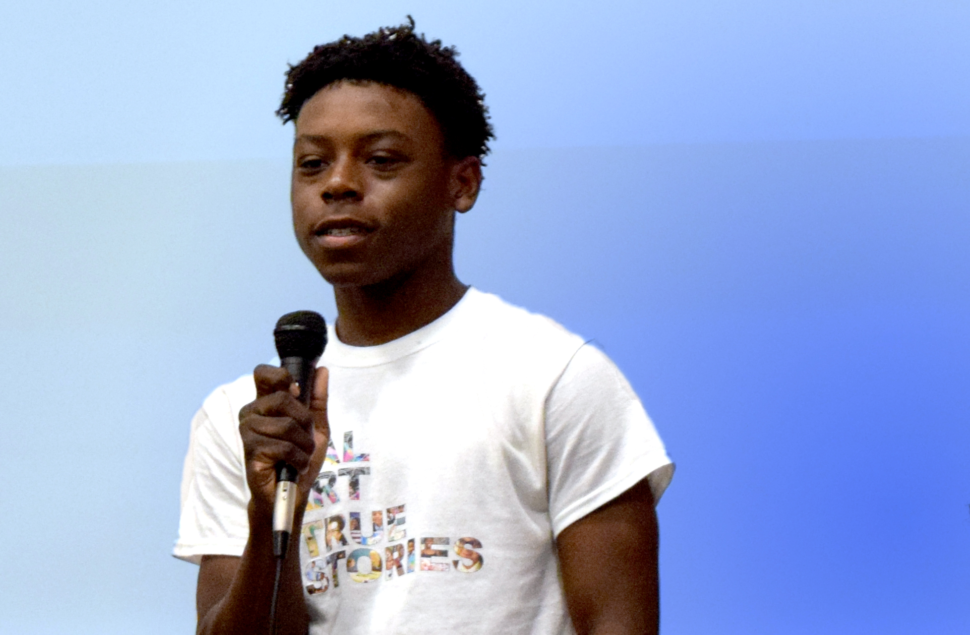 Brandon Trent - 2019 Summer Youth ApprenticeI was very excited to work on the Randolph Houses film, because it's based in Harlem, and I wanted to do something that was based on my culture. My favorite part of this summer was getting to meet all the people and see their reactions to this positive thing that we're doing.