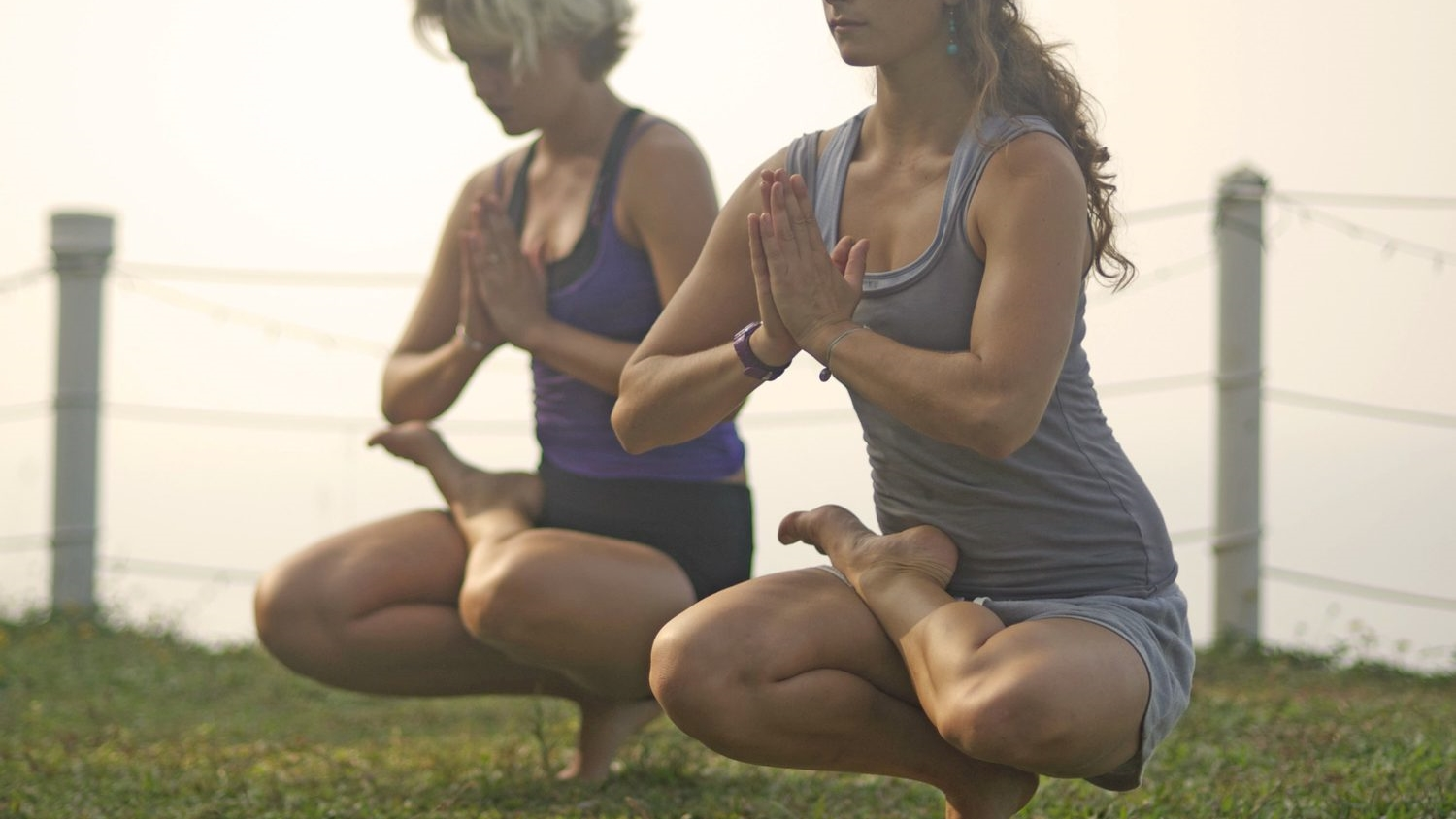 Yoga and Surfing - Balance and coordination