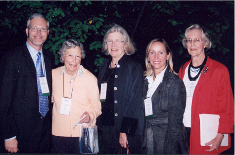 Left to right, Fred Spicer, BBG Director; Shirley Meneice; Ellen Petersen, GCA Horticulture Chairman; Mary Evelyn McKee, conference chairman; and Louise Wrinkle, at the GCA Horticulture Conference: 2010 Shirley Meneice, in Birmingham.    PRESIDENTS OF LITTLE GARDEN CLUB OF BIRMINGHAM:  1928-29 Mrs. Beach Chenoweth  1929-30 Mrs. James L. Davidson  1930-31 Mrs. S. Ravaud Benedict  1931-32 Mrs. Mercer Barnett  1932-33 Mrs. A.C. Montgomery  1933-34 Mrs. Morris Bush  1934-36 Mrs. A.C. Polk  1936-37 Mrs. Earle Drennen  1937-38 Mrs. Charles Caldwell  1938-39 Mrs. John Coleman  1939-40 Mrs. Alfred Shook  1940-41 Mrs. T.M. Joy  1941-42 Mrs. Rucker Agee  1942-43 Mrs. Herbert Tutwiler  1943-44 Mrs. Ravaud Benedict  1944-45 Mrs. Theodore Swann  1945-46 Mrs. J. DeWitt Wilcox  1946-47 Mrs. Glenn Hall  1947-48 Mrs. Morris Bush  1948-49 Mrs. John Coleman  1949-50 Mrs. Francis Sheppard  1950-51 Mrs. Parker Evans  1951-53 Mrs. Alfred Shook  1953-55 Mrs. Rucker Agee  1955-57 Mrs. Joseph T. Hartson  1957-59 Mrs. John Cobbs  1959-60 Mrs. Hugh Comer  1960-61 Mrs. Parker Evans  1961-62 Mrs. Paul Bowron  1962-64 Mrs. William R.J. Dunn, Jr.  1964-65 Mrs. Rucker Agee  1964-65 Mrs. Rucker Agee  1965-67 Mrs. Felton Wimberly, Jr.  1967-68 Mrs. Paul Bowron  1968-70 Mrs. Herbert Ryding, Jr.  1970-72 Mrs. Arthur I. Chenoweth  1972-74 Mrs. John Schuler  1974-76 Mrs. Beverly P. Head, Jr.  1976-78 Mrs. John N. Wrinkle  1978-80 Mrs. Glenn Ireland II  1980-82 Mrs. Frank M. Bainbridge  1982-84 Mrs. William K. Murray  1984-86 Mrs. Elmer Bissell  1986-88 Mrs. William J. Rushton III  1988-90 Mrs. James S.M. French  1990-92 Mrs. James Quarles 1992-94  Mrs. Henry Crommelin, Jr. 1994-96  Mrs. Leo M. Karpeles, Jr. 1996-98  Mrs. Fred W. Murray, Jr. 1998-2000  Mrs. Wyatt Haskell 2000-2002  Mrs. Frank E. Lindstrom, Jr. 2002-2004  Mrs. Temple Tutwiler III 2004-2006  Mrs. Henry S. Long, Jr. 2006-2008  Mrs. A. Philip Cook, Jr. 2008-2010  Mrs. Peter T. Worthen 2010-2012  Mrs. R. Waid Shelton 2010-2012  Mrs. Nimrod Long 2012-2014  Mrs. William L. Hinds 2014-2016  Mrs. Samuel E. Gray 2016-2018