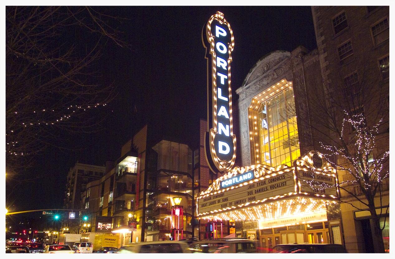 Arlene Schnitzer Concert Hall (photo courtesy of TravelPortland.com)