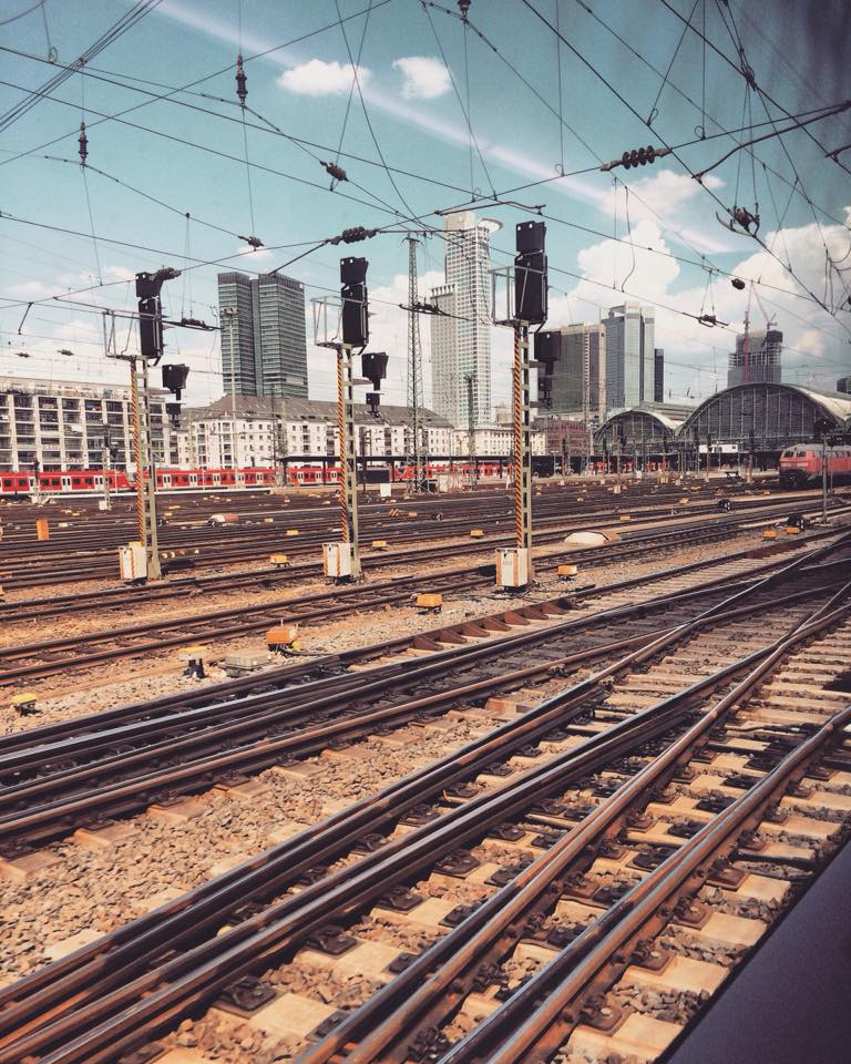 Travel is my way of life - Frankfurt Central Station