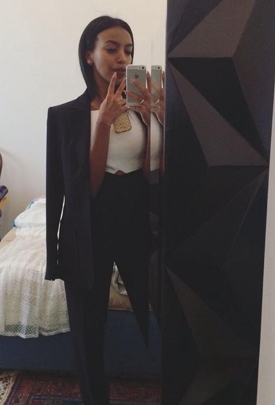 Morning power suit selfie is inevitable... -