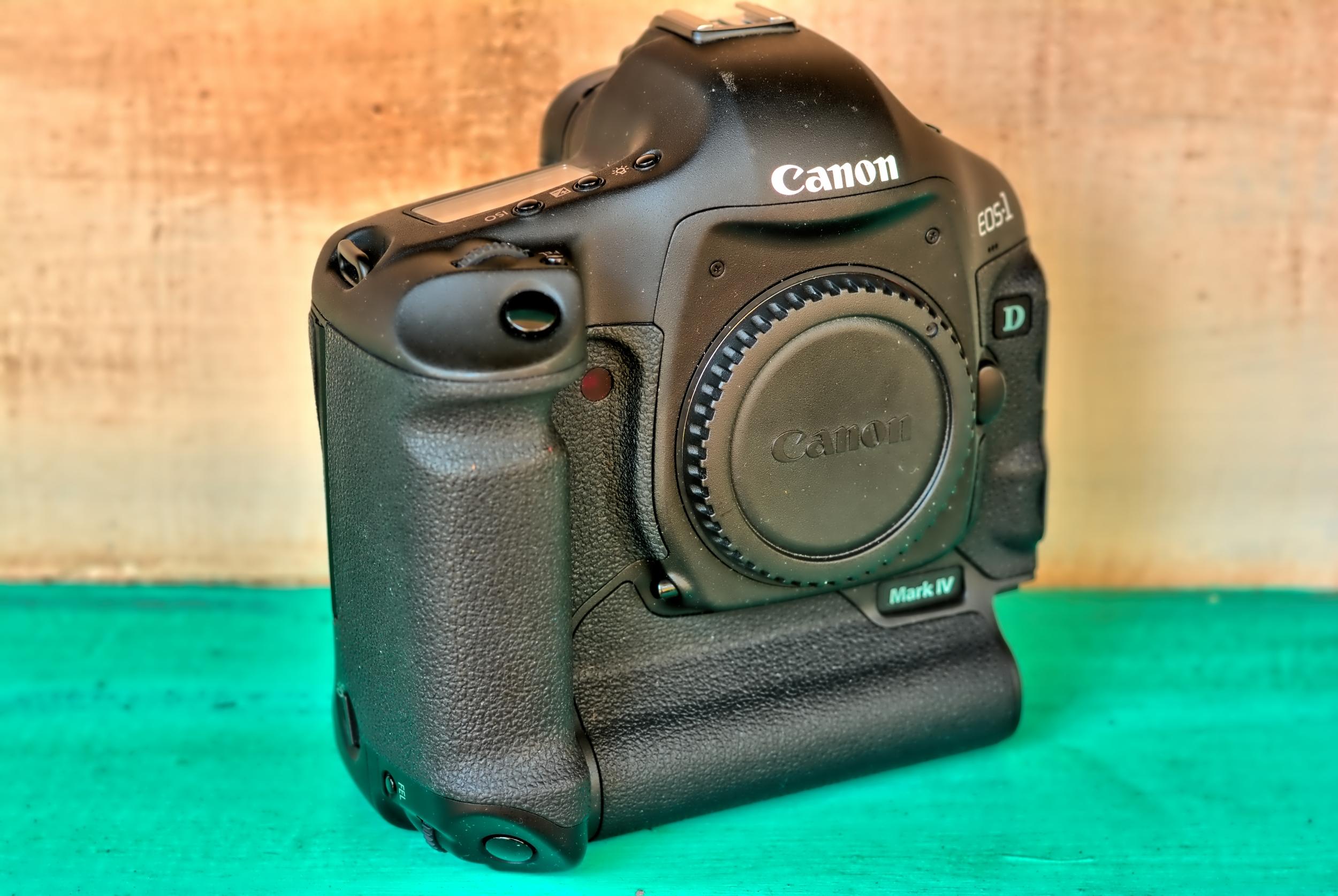 Canon EOS-1 Mark IV Full Frame DSLR Camera