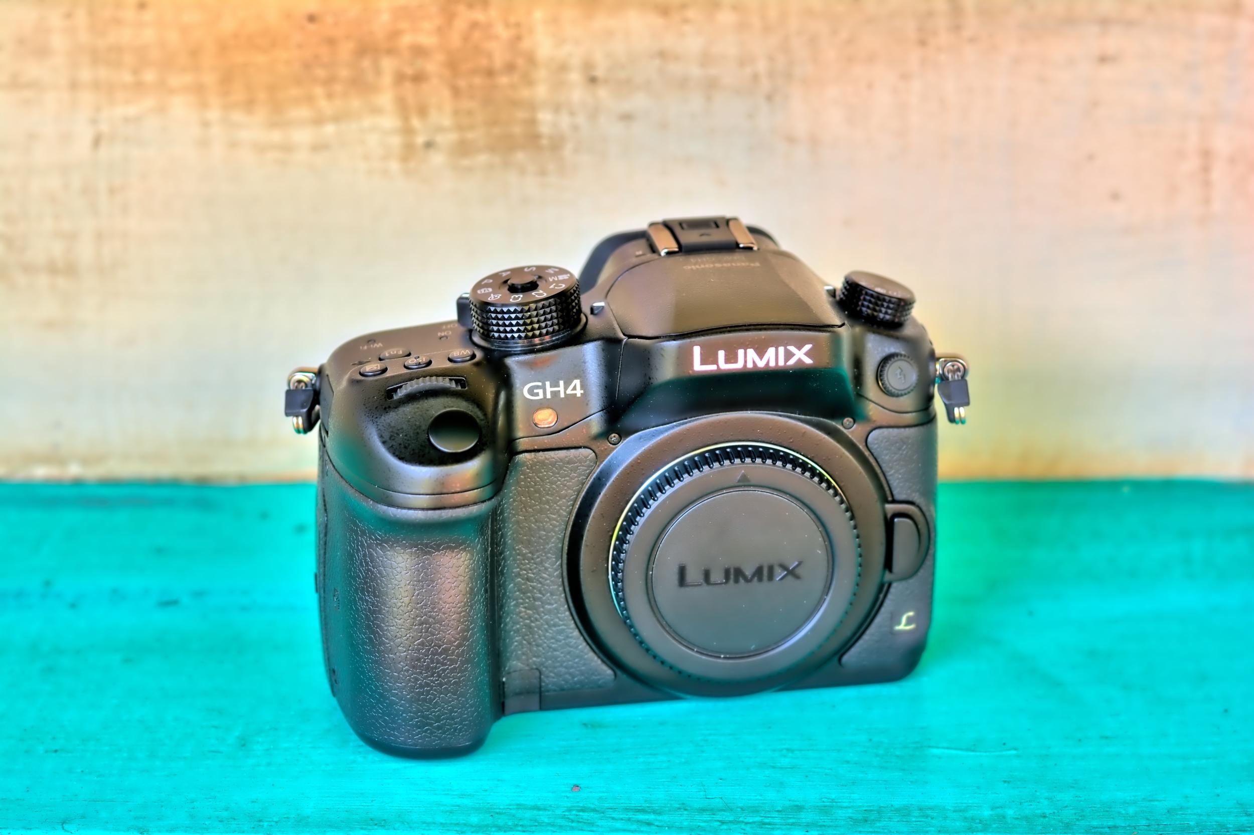 Panasonic Lumix GH4 Full Frame 4K DSLR Camera