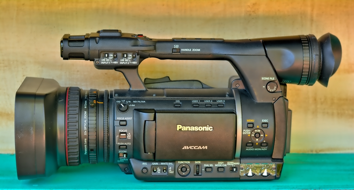 Panasonic AVCCAM Producton Camera