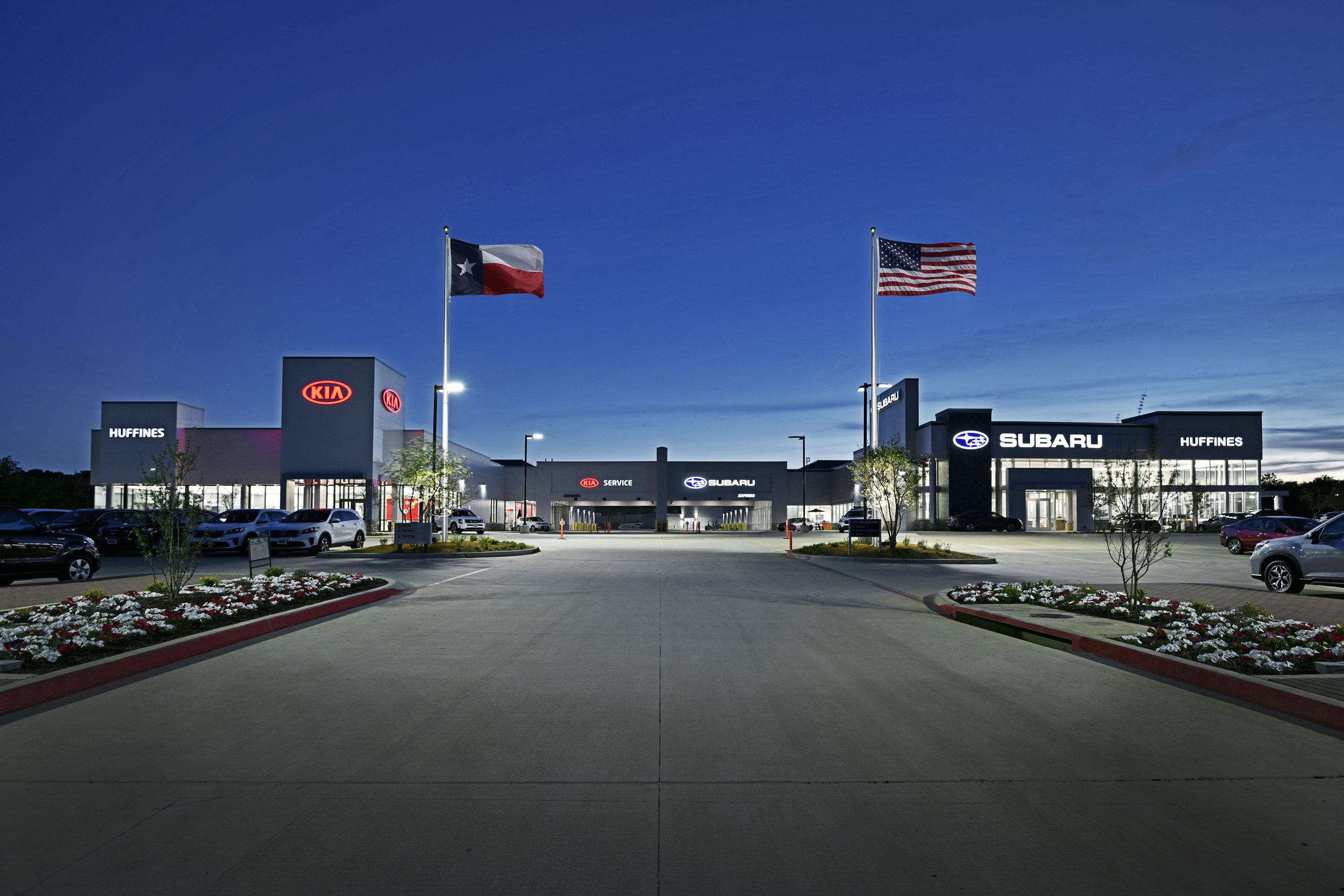 Huffines Kia Subaru, Corinth, TX