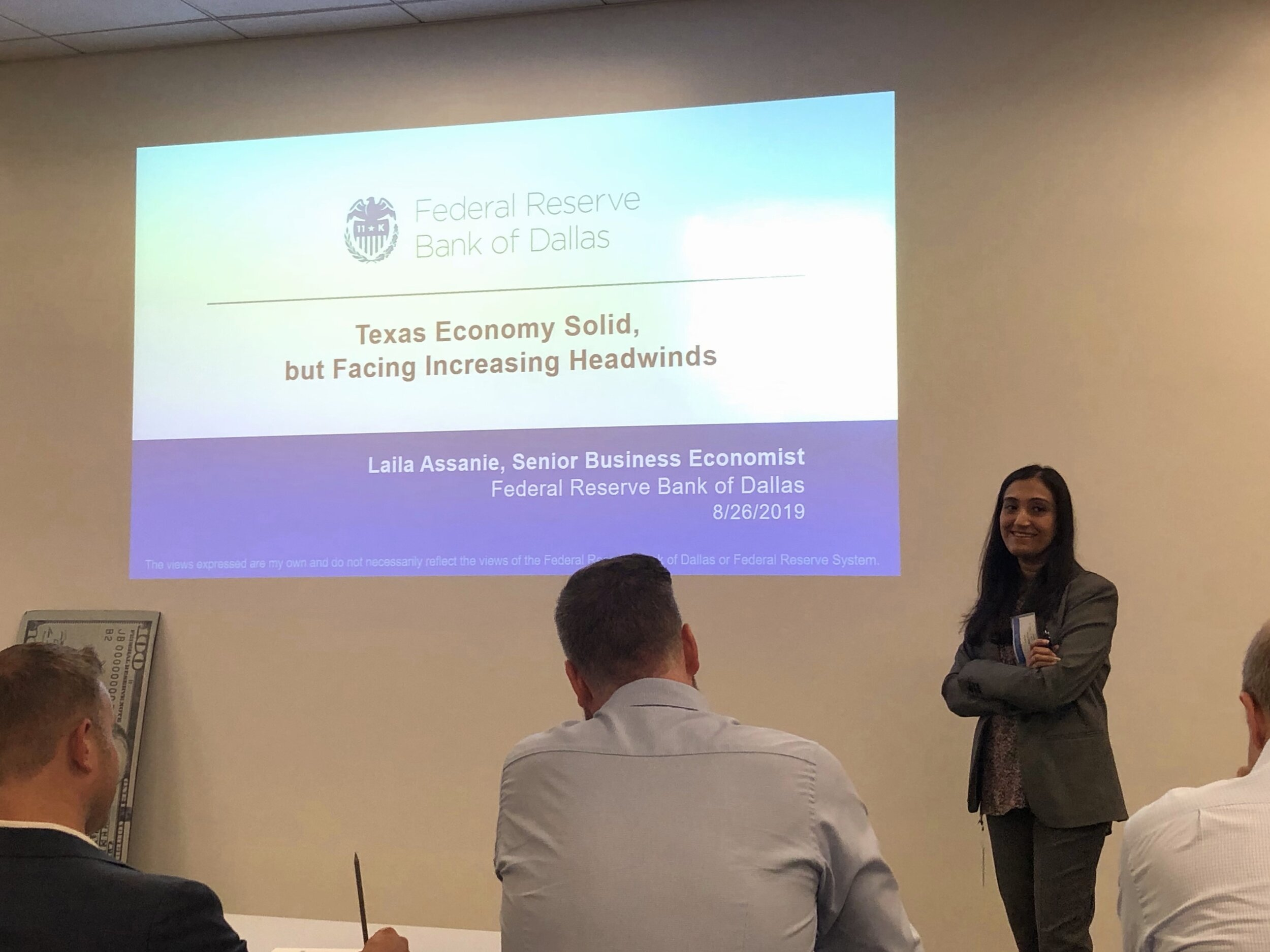Laila Assanie, Senior Business Economist at the Federal Reserve Bank of Dallas