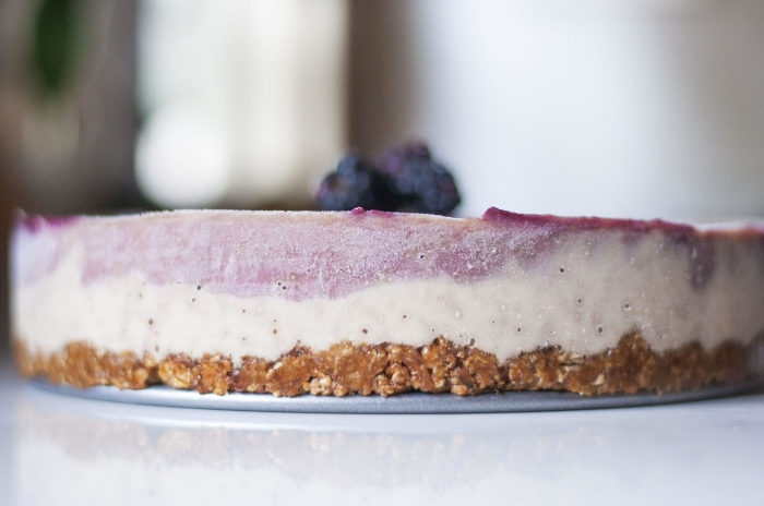"Erin Stanczyk | Lifestyle Design | eat.move.rest. | FRUIT CAN BE FUN: FULLY RAW BLACKBERRY ""CHEESECAKE"""