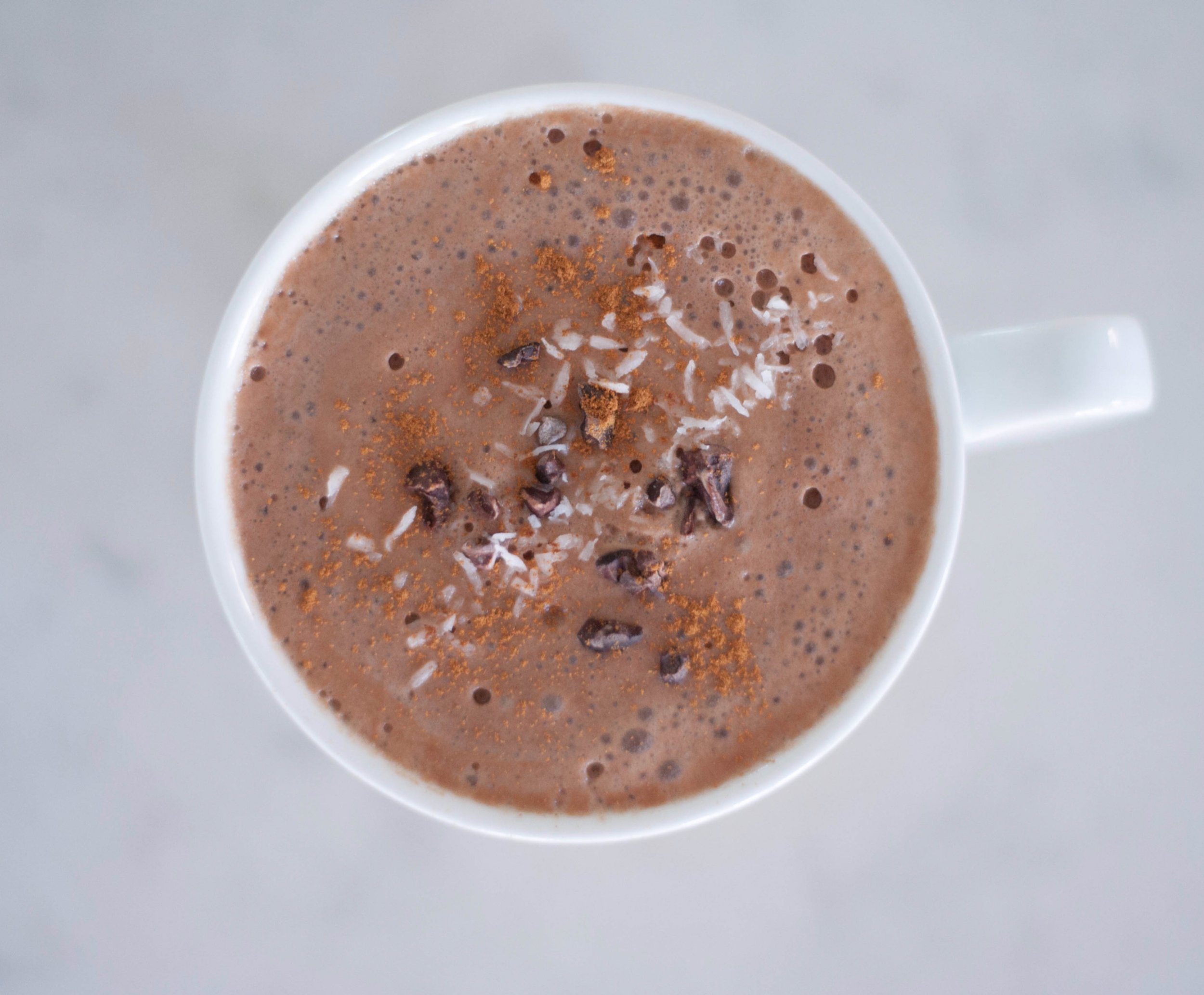 Erin Stanczyk | Lifestyle Design | eat.move.rest. | MY DAIRY-FREE, FROTHY HOT COCOA RECIPE