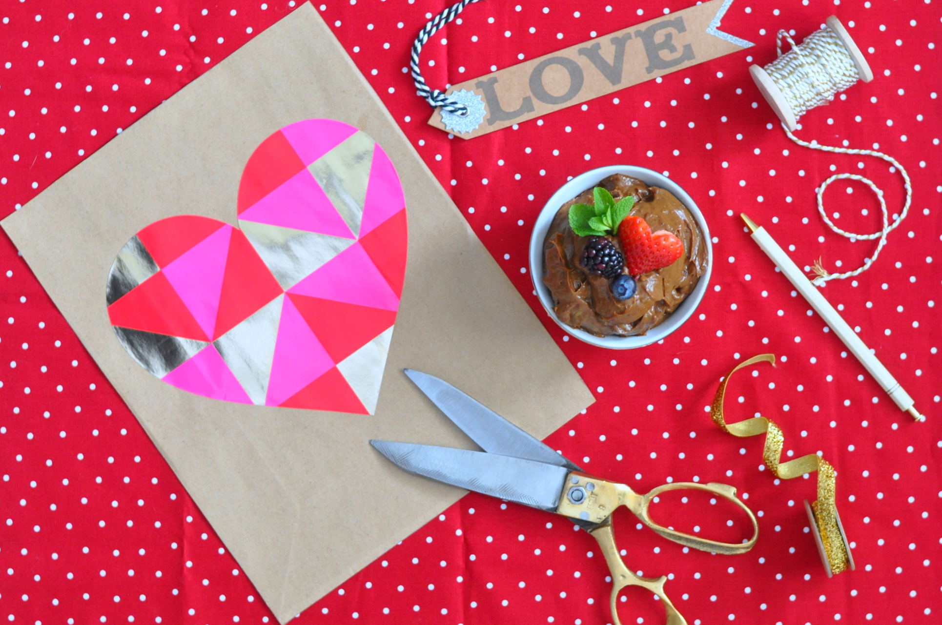 Erin Stanczyk | Lifestyle Design | eat.move.rest. | Valentine's Raw Avocado Chocolate Mousse