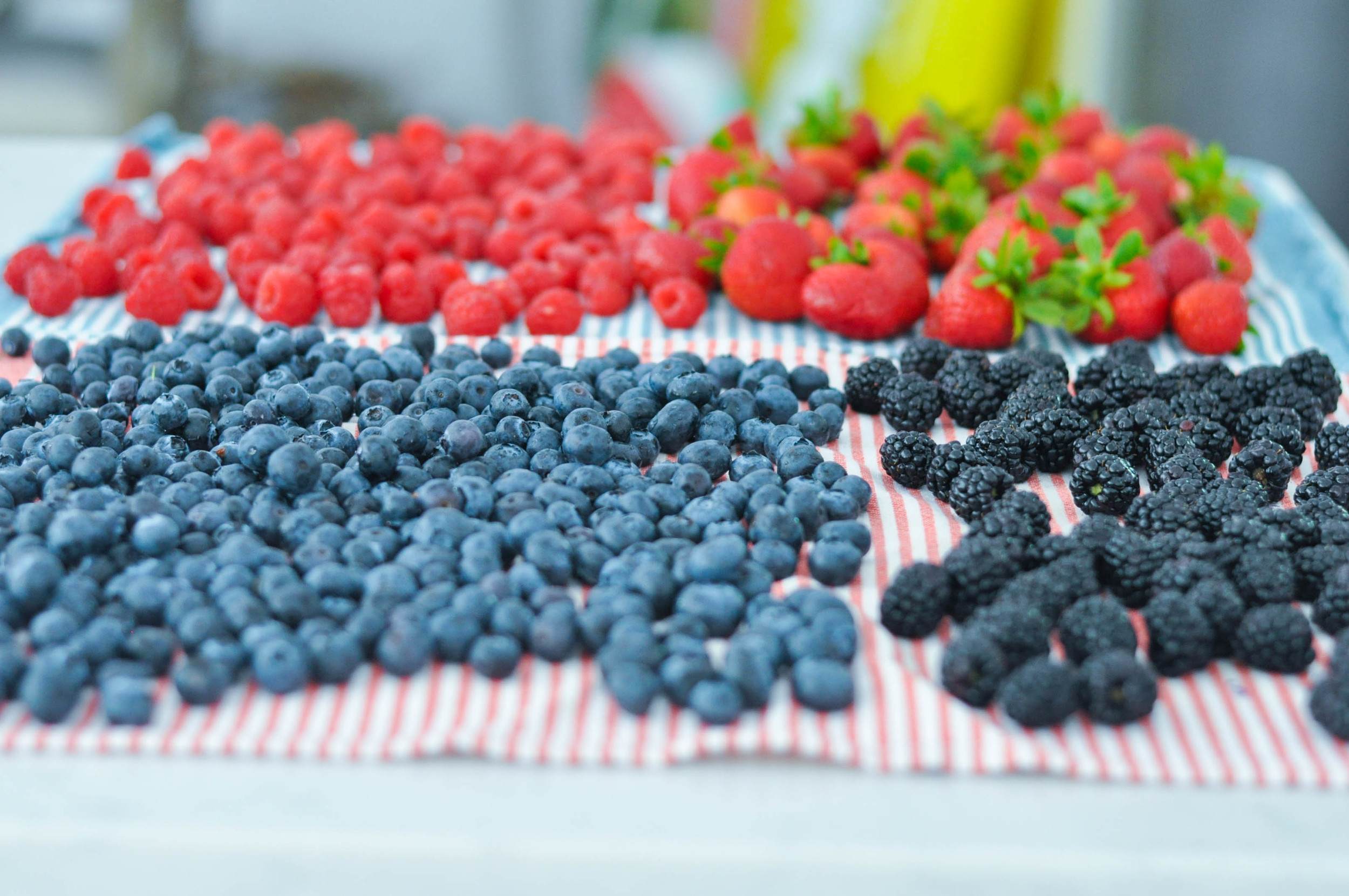 Erin Stanczyk | Lifestyle Design | eat.move.rest. | RED, WHITE, & BLUEBERRIES: 3 BERRY PATRIOTIC WAYS TO 'CHEERS' TO THE FOURTH OF JULY